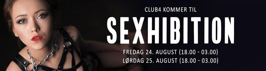 Club4 på Sexhibition 2018
